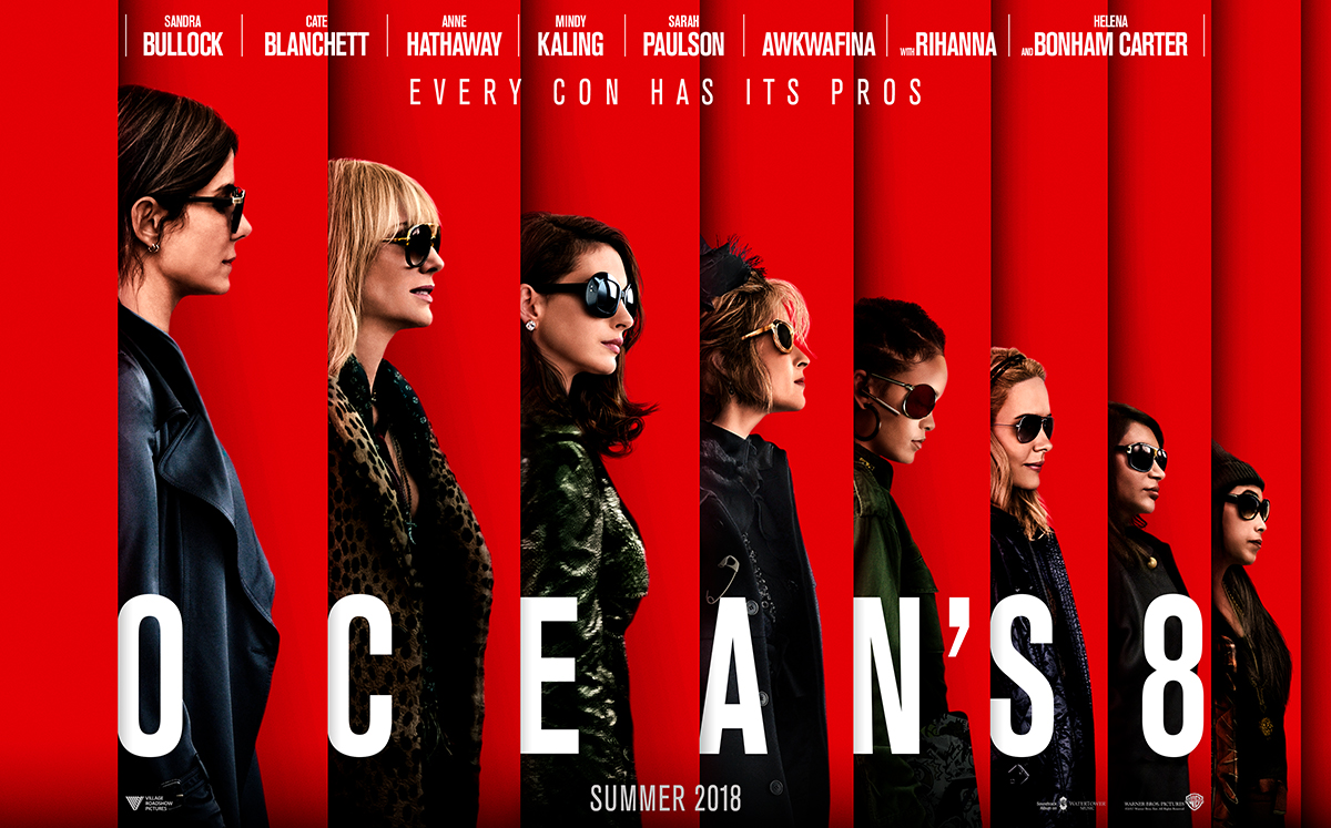 Ocean's Eight: Transcends Gender Bias